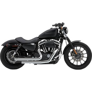 COBRA DRAGSTERS CHROME EXHAUST FOR HARLEY SPORTSTER XL 2007-2013