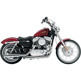 "COBRA SLIP-ONS 3"" CHROME MUFFLERS FOR HARLEY XL1200V 2012-2013"