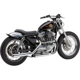 COBRA NEIGHBORHOOD HATER CHROME MUFFLERS FOR HARLEY SPORTSTER XL 1986-2003