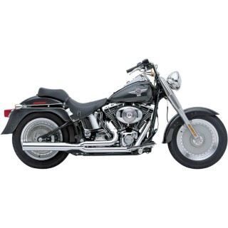 COBRA POWERPRO HP 2-IN-1 CHROME EXHAUST FOR HARLEY HARLEY SOFTAIL 2007-2011