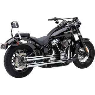 TERMINALI COBRA NEIGHBORHOOD HATER CROMO PER HARLEY DAVIDSON SOFTAIL 2018-2020