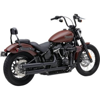 TERMINALI COBRA NEIGHBORHOOD HATER NERI PER HARLEY DAVIDSON SOFTAIL 2018-2020