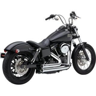 COBRA SPEEDSTER 909 CHROME EXHAUST FOR HARLEY DAVIDSON DYNA 2006-2011