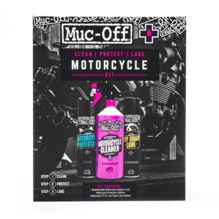 MUC-OFF MOTORCYCLE CLEAN PROTECT AND LUBE KIT