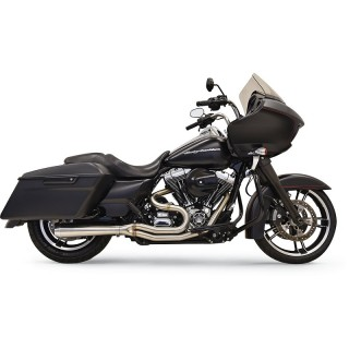 BASSANI XHAUST ROAD RAGE III 2 IN 1 SHORT EXHAUST FOR HARLEY TOURING 07-16