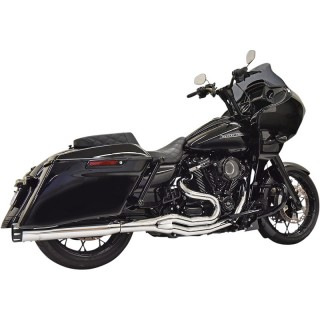BASSANI XHAUST ROAD RAGE M8 2 IN 1 CHROME EXHAUST HARLEY TOURING 17-21
