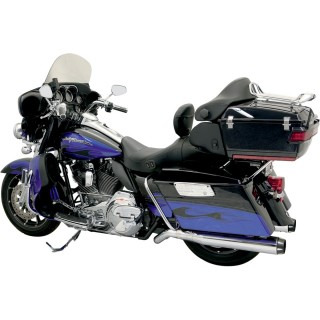 BASSANI XHAUST ROAD RAGE II B1 PSEUDO LEFT-SIDE MUFFLER CHROME