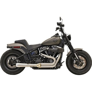 BASSANI XHAUST ROAD RAGE III 2 INTO 1 STAINLESS STEEL EXHAUST SOFTAIL 2018-2021