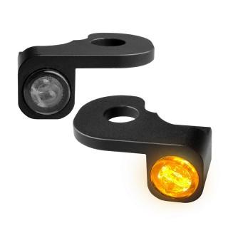 HEINZ BIKE NANO BLACK LED TURN SIGNALS SIDE LIGHT BREAKOUT 13-14 HYDRAULIC CLUTCH
