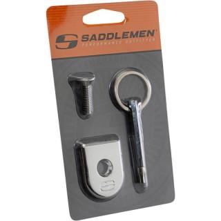 SADDLEMEN SCREW SEAT SECURITY CHROME FOR HARLEY DAVIDSON
