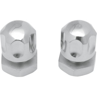 """DRAG SPECIALTIES FRONT AND REAR SEAT MOUNT KNOBS HARLEY 99-20 FENDER 1/4 """"-20"""