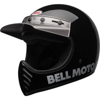 BELL MOTO-3 HELMET - BLACK